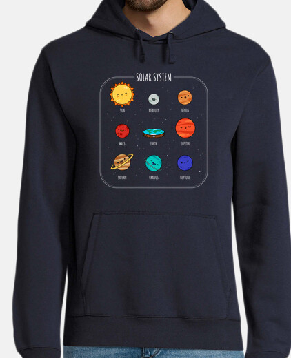 new solar system man hoodie