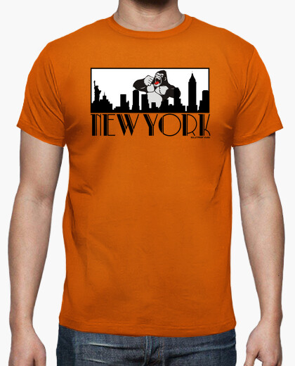 New yorilla t-shirt