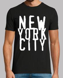 NEW YORK CITY CAMISETA NEGRA