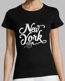 new york city vintage weiß