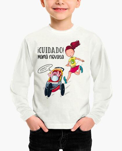 Newbie mom kids t-shirt