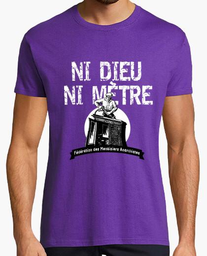 Tee-shirt Ni Dieu ni mètre