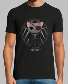 nick hommes poilus  tee shirt