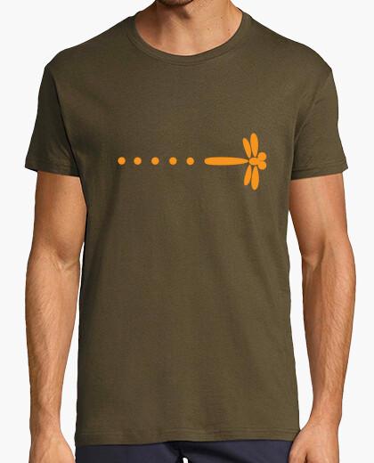 T-shirt nicky larson libellula