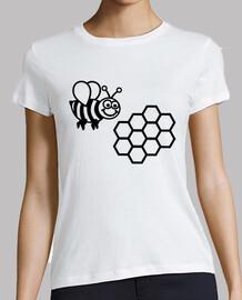 nid d'abeille d'abeilles
