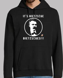 nietzsche (hoodies uomo e una ragazza)
