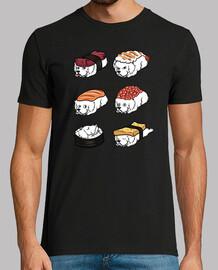 Nigiri di sushi dei grandi cani dei Pir