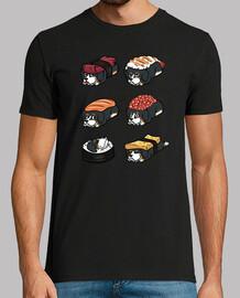 Nigiri di sushi di montagna bernese