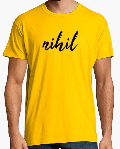 Camiseta nihil