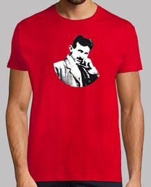 Nikola Tesla camiseta hombre