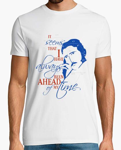 Tee-shirt nikola tesla citation n ° 2