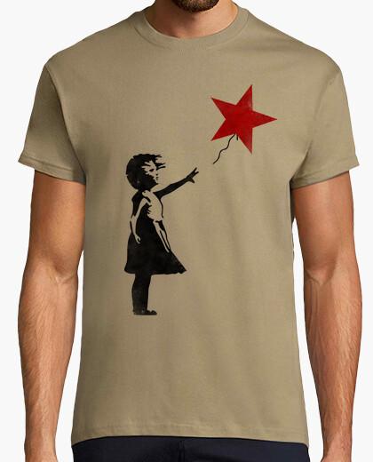 Camiseta Niña de la estrella roja