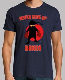 Ninja boxeador colección Nunca te rinda