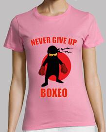 ninja boxer collection never give up