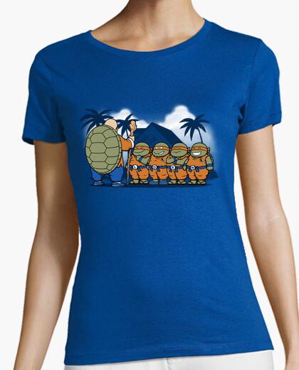 Ninja kame kids donne t-shirt