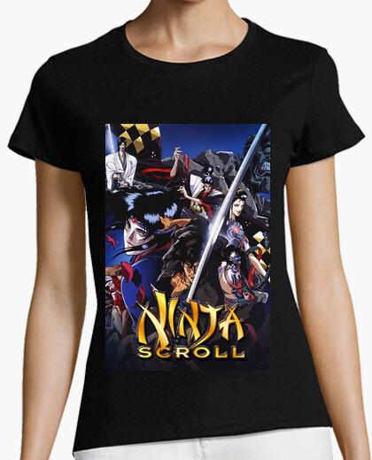 Camiseta Ninja Scroll