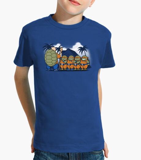 Ropa infantil ninjas niños kame -niños camiseta