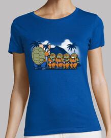 ninjas para mujer niños kame camiseta