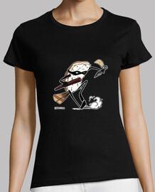 ninjasushi kunai tee shirt femme