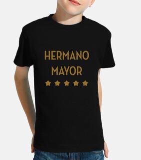 Niño, Camiseta : Hermano Mayor