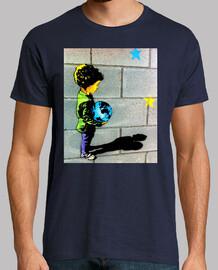 Niño Grafiti - Camiseta Hombre