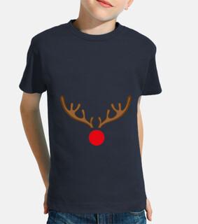 Niño, manga corta, azul marino Rudolf