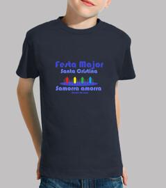 Niño, manga corta, azul marino Samorra amorra
