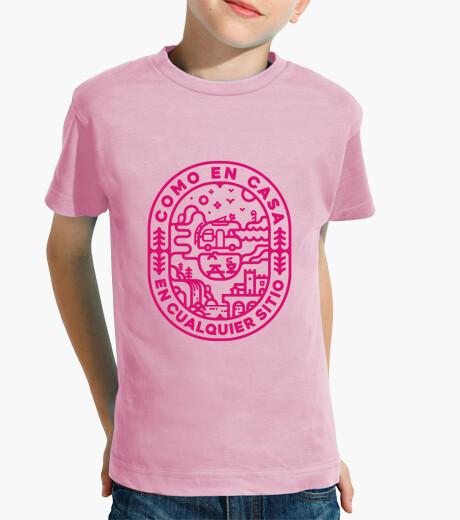 Ropa infantil Niño, manga corta, rosa