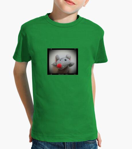Ropa infantil Niño, manga corta, verde, Raton pelicula