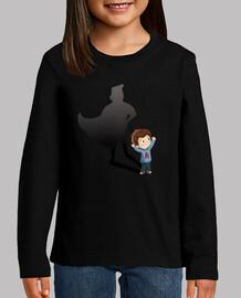 Niño superheroe - camiseta niños