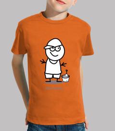 Niño viajero-Niño, manga corta, naranja