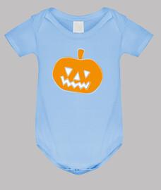 niños de la calabaza de halloween