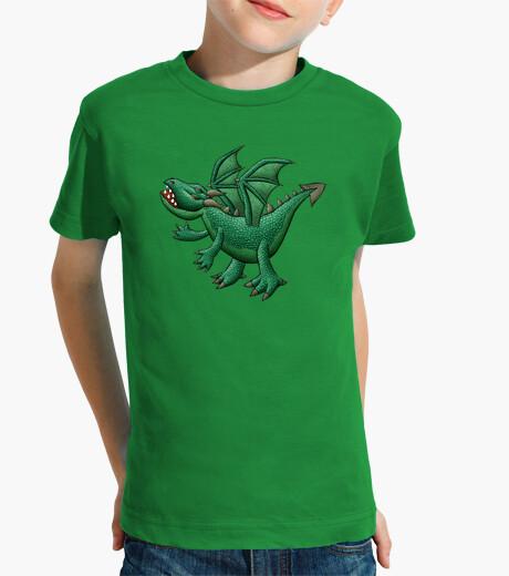 Ropa infantil niños dragón verde