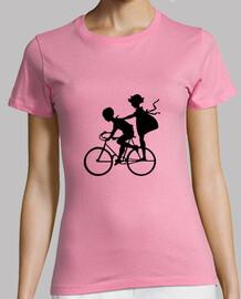 Niños en bicicleta