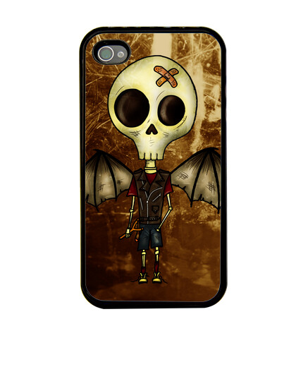 Open iPhone cases skulls