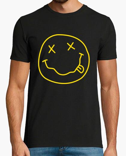 efb44254ce56a Tee-shirt nirvana - acide - smiley - 564666