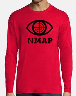 NMAP Logo Negro y Rojo