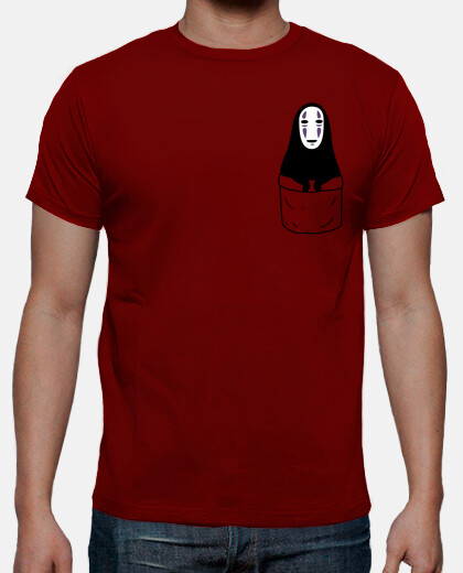 No-face in a pocket camiseta chico