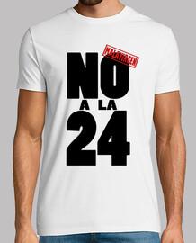 No a la 24. Malavirgen