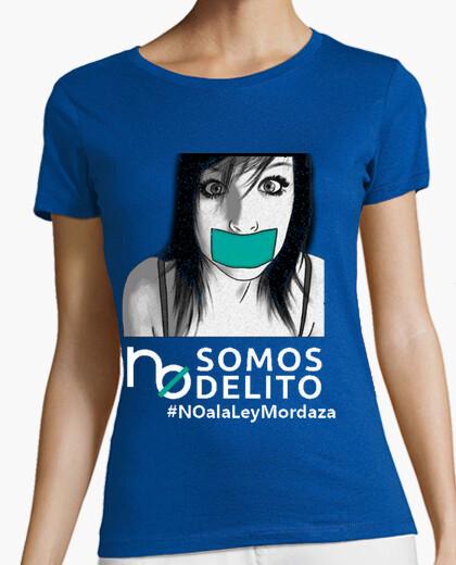 Camiseta No a la Ley Mordaza