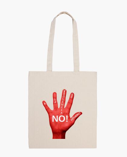 Bolsa No a la violencia de genero.