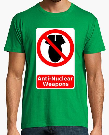 Camiseta No a las Armas Nucleares