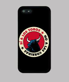No a las corridas de Toros - Funda para móvil