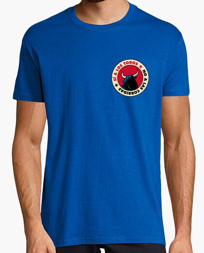 Camiseta No a las corridas de Toros - mc chico