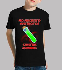 No Antidoto Contra Zombie niños