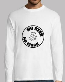 No Beer No Work / Alcool / Humour