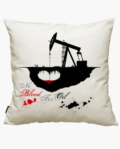 Funda cojín No Blood For Oil