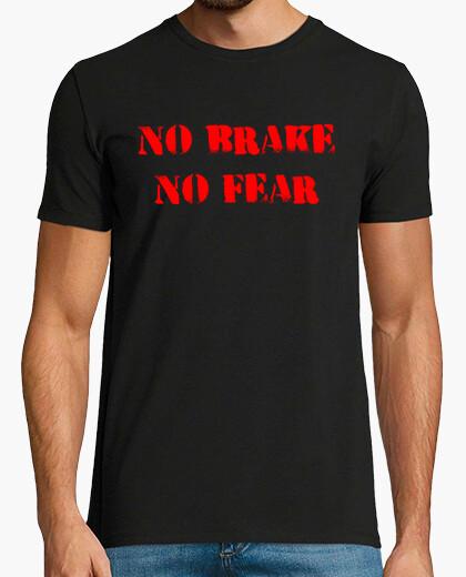 Camiseta No brake, no fear (negra)