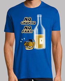 No Chupito No Party Chico Manga Corta