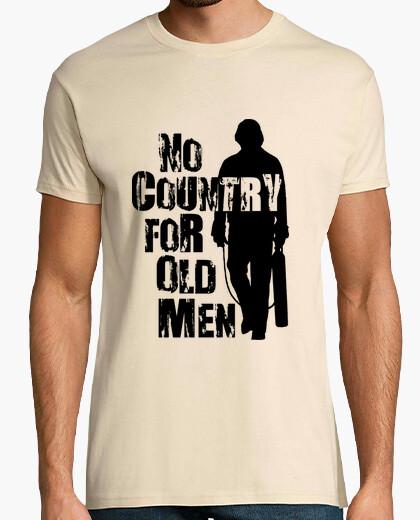 Camiseta No country for old men - No es país para viejos - Anton Chigurh